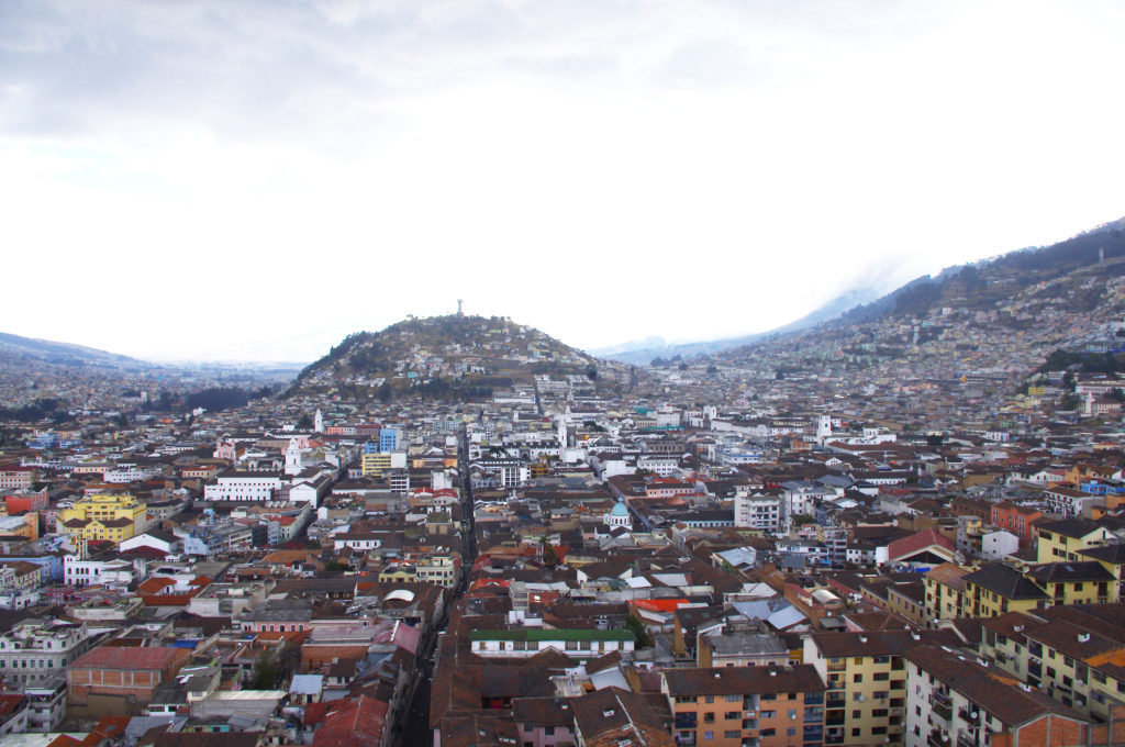 View of Quito, Ecuador