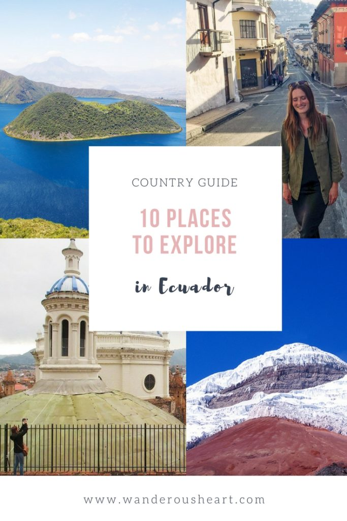 Best places to visit in Ecuador