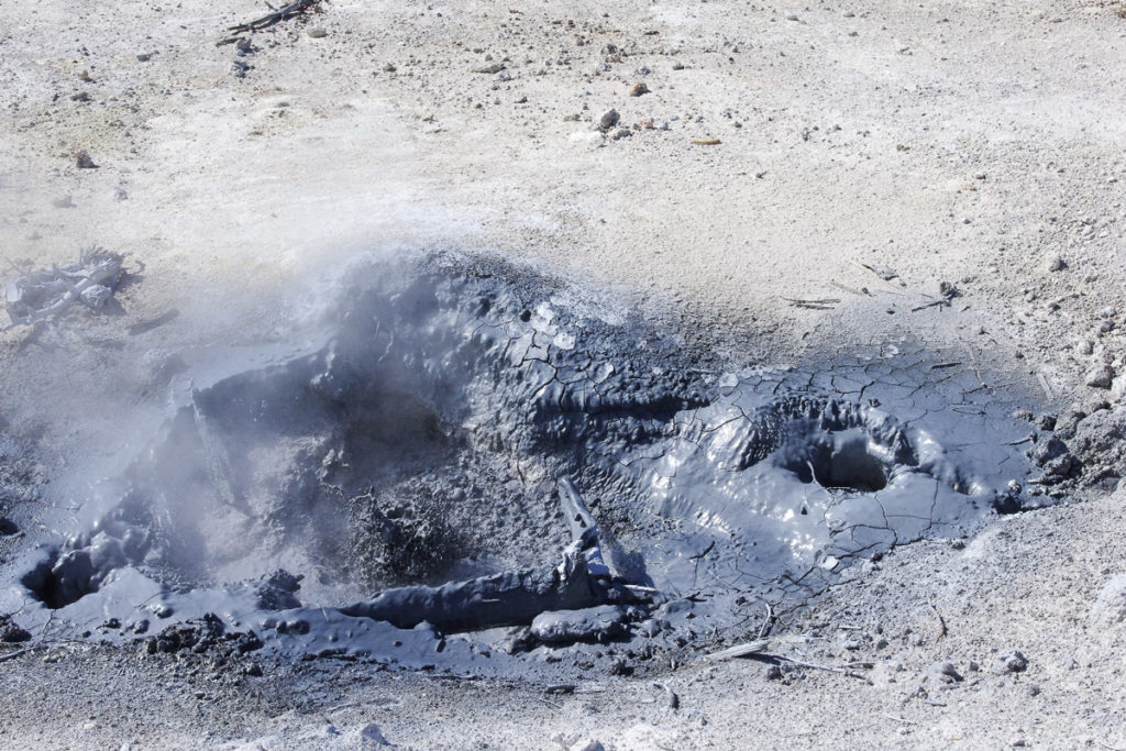 The floor is lava in Yellowstone