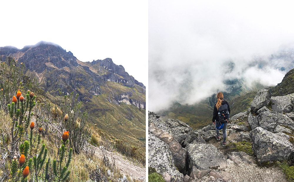 Climb the three summits of Pichincha
