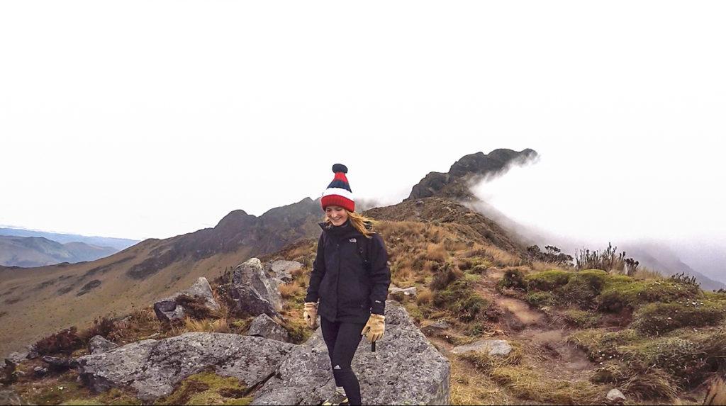 Climb Imbabura volcano in Ecuador
