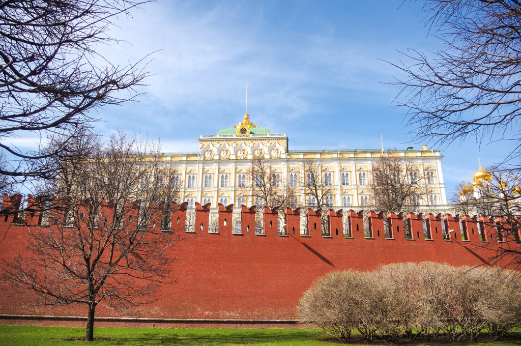 Russia's Kremlin located in Moscow.