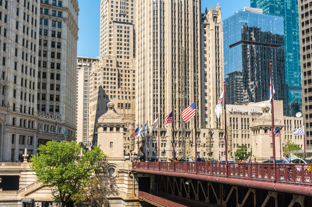 Walk down the Magnificent Mile