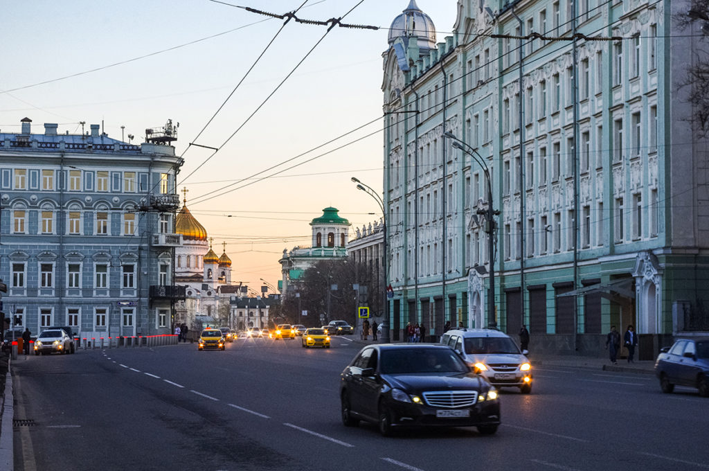 Photo of Moscow's streets