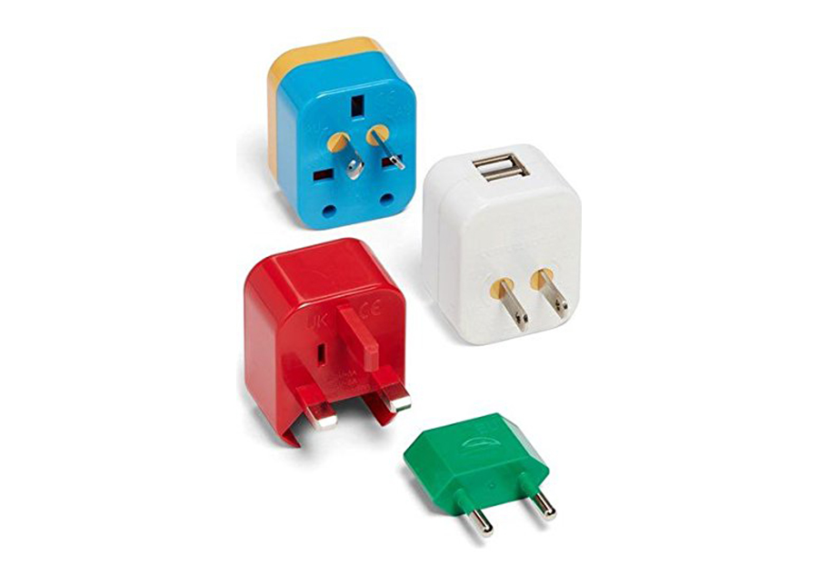 Gift guide for travelers: Universal adapter