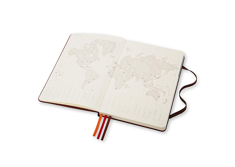 Gift guide for travelers: travel notebook