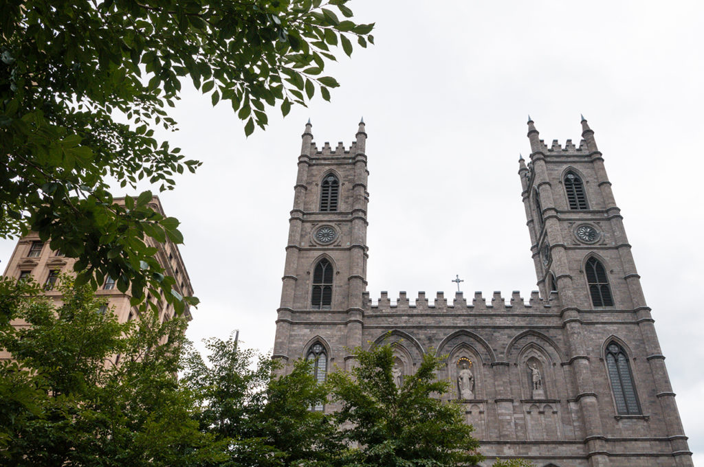 Must-Visit Place in Montreal: Basilique Notre Dame de Montréal off the Place d'Armes