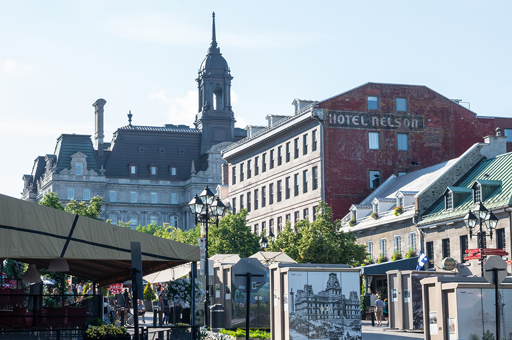 One of the best things to do in Montreal  is to explore the streets of Vieux Montreal