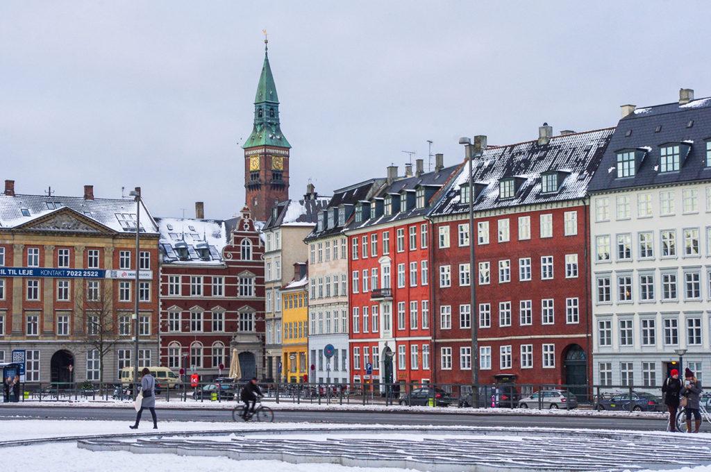 Square near Rådhuspladsen .