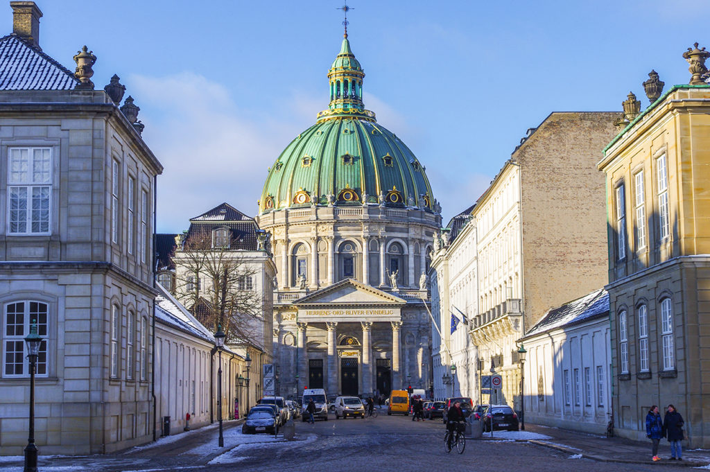 Visit the Marble Church in Copenhagen