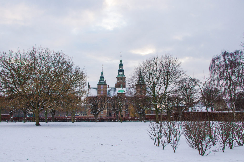 Visit Rosenborg Castle in the King's Garden in Copenhagen.