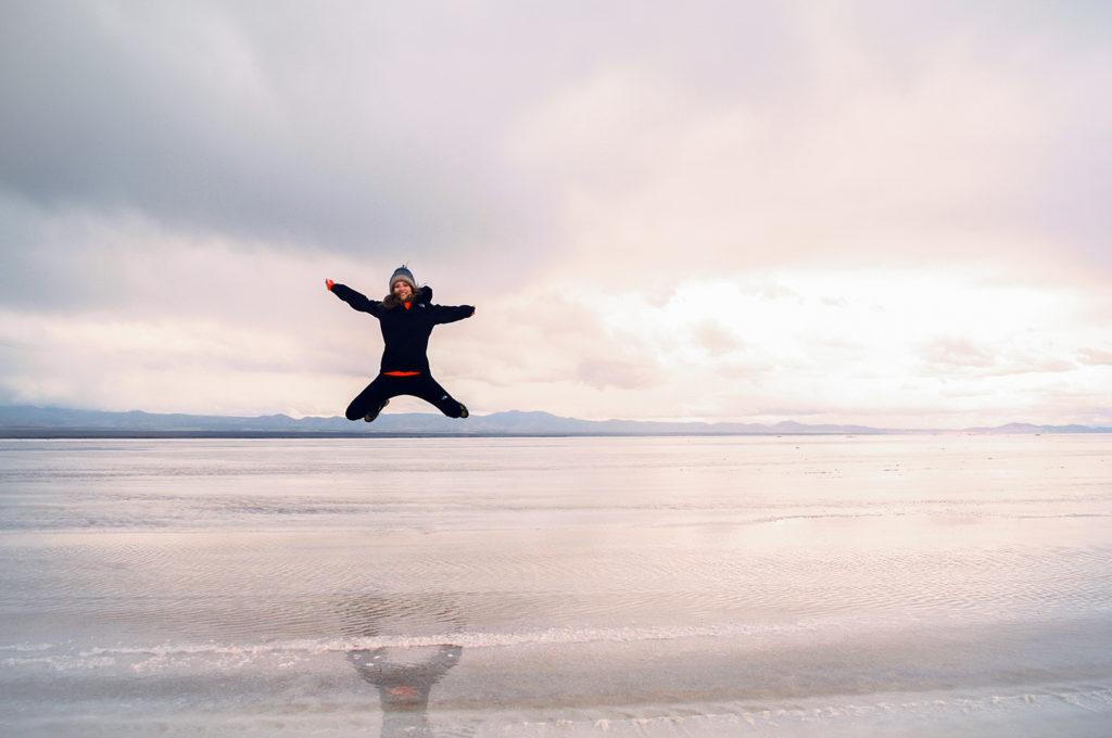 Visit Uyuni salt flats in Bolivia