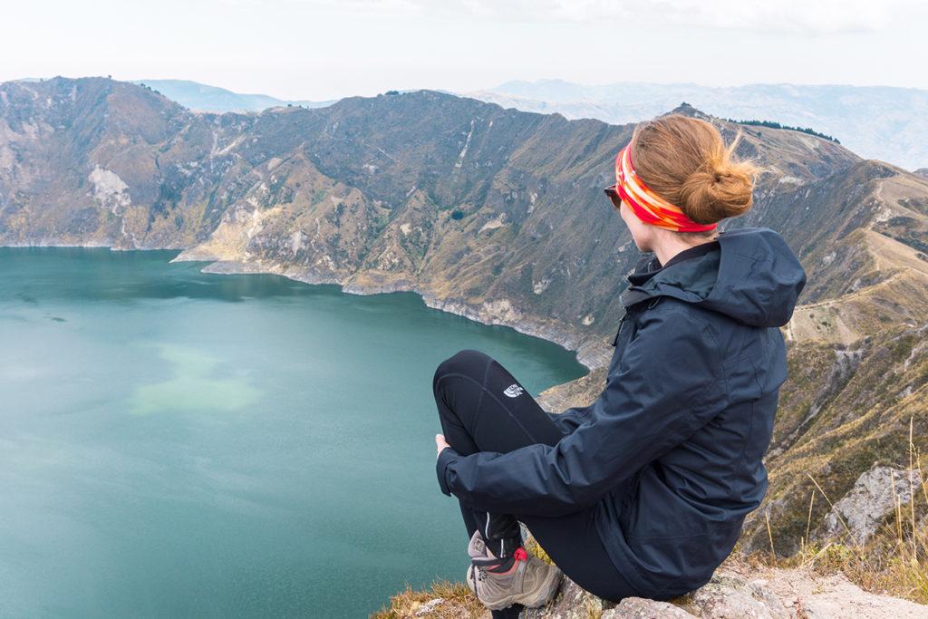 Hike Quilotoa Crater Rim