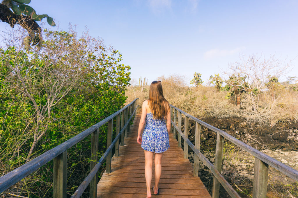 Hiking in Galapagos