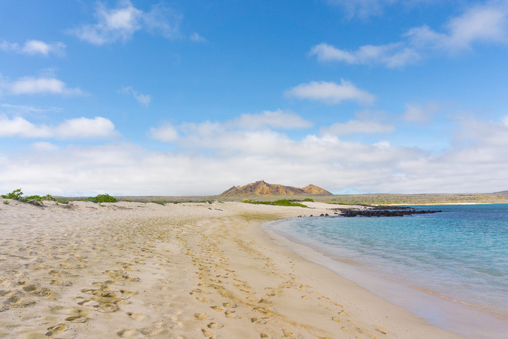 Sardina beach in Galapagos