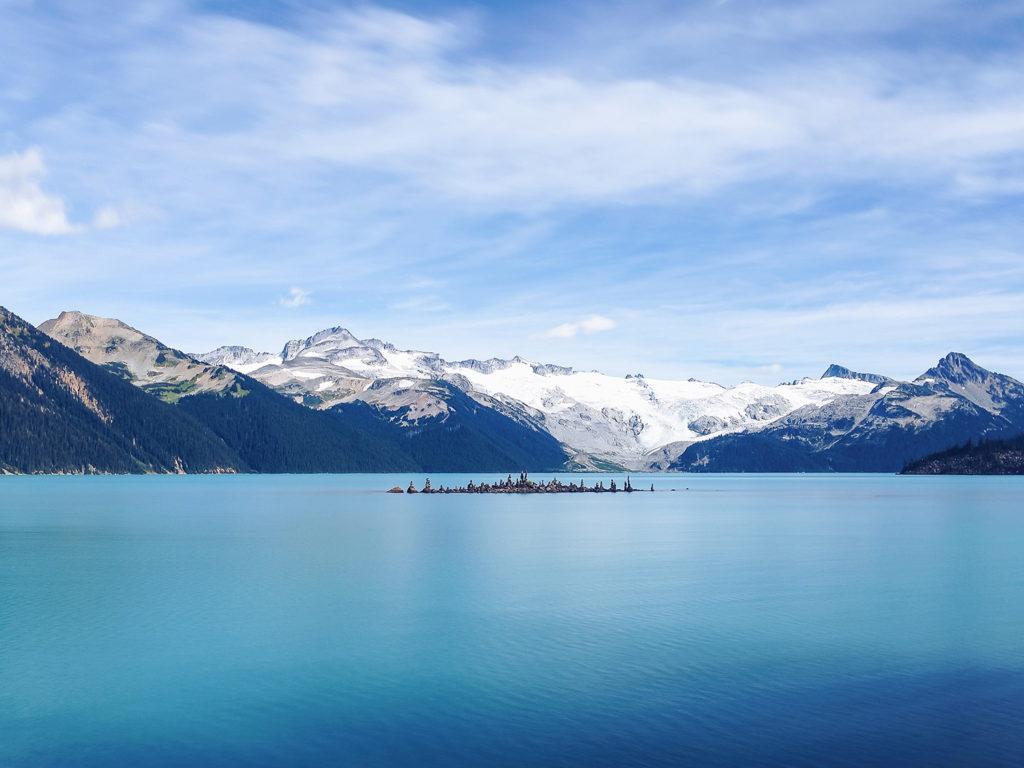 Garibaldi lake near Vancouver.
