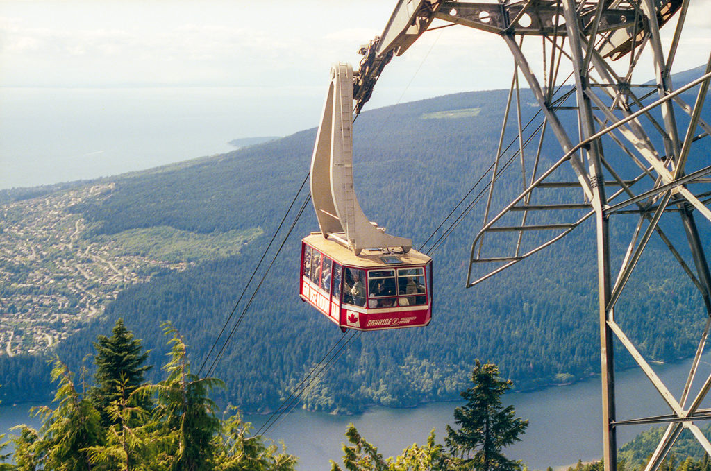 Grouse mountain cable car