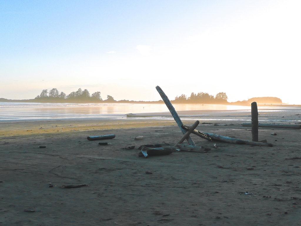 Tofino in the Pacific rim.