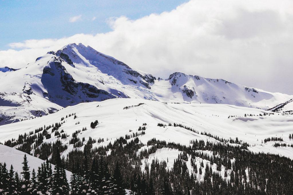 Whistler Blackcomb ski resort.